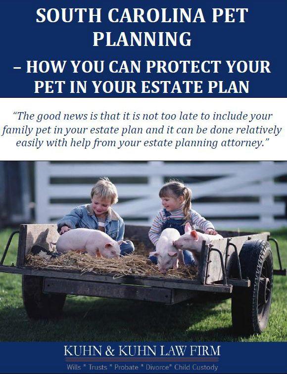 South Carolina Pet Planning: How You Can Protect Your Pet Plan in Your Estate Plan