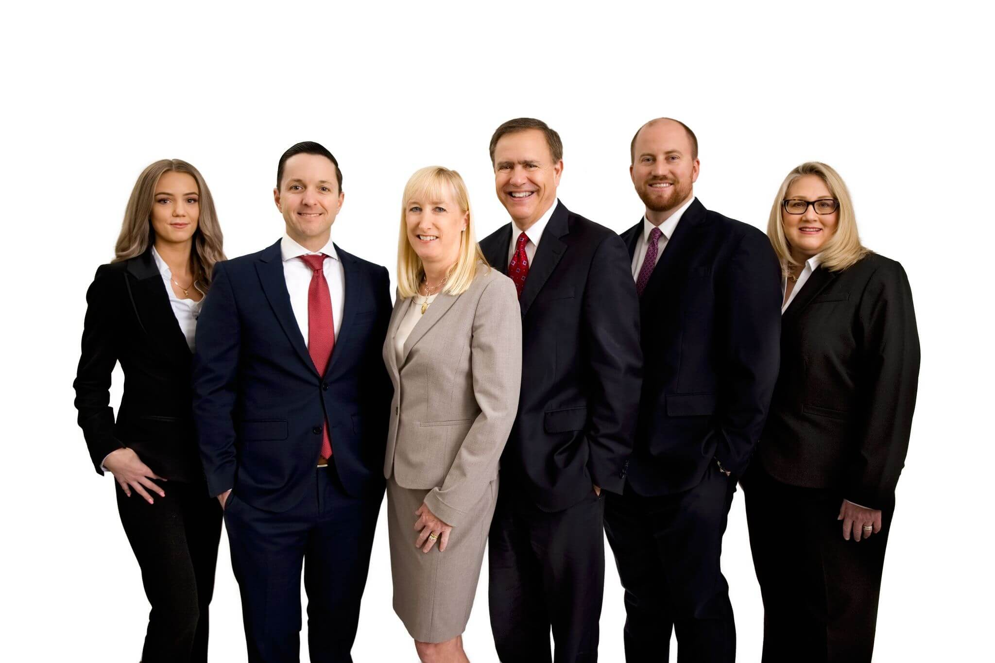 banner group photo of attorneys